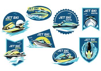 Jet Ski Vector - Free vector #405647
