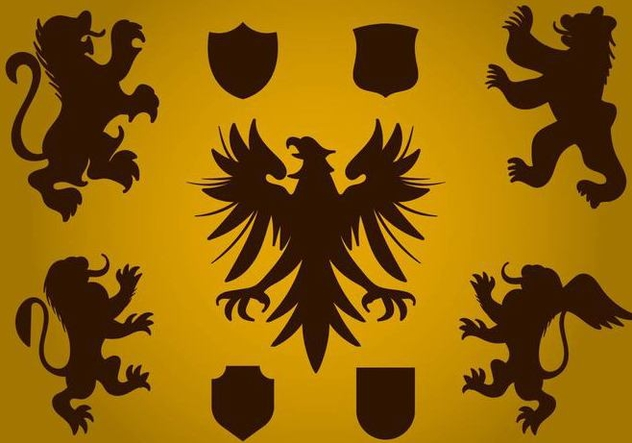 Free Heraldy Symbol Vector - Free vector #406157