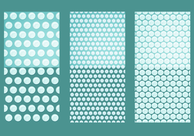 Bubble Wrap Vector Pattern Seamless - vector #406367 gratis