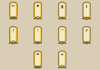 Cartouche Icon - Kostenloses vector #406997