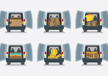 Free Car Boot Icons Vector - vector gratuit #407527