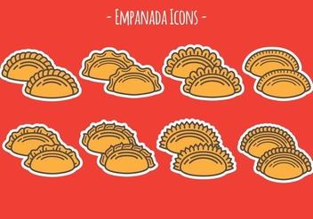Empanada Icons - Kostenloses vector #407927