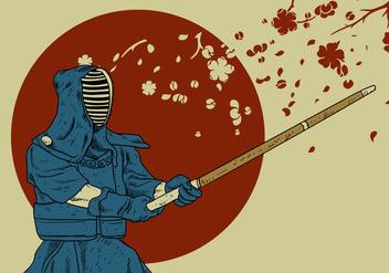 Kendo Master - Kostenloses vector #408397