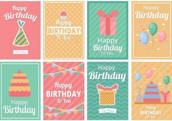 Free Birthday Party Template Invitation Vector - vector gratuit #408447