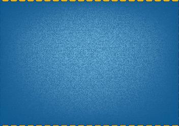 Blue Jean Vector - Kostenloses vector #408617