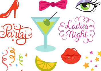 Free Hen Party Vectors - vector #408687 gratis