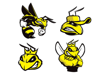 Free Bee Vector - Free vector #408887