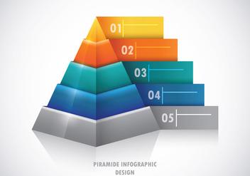 Piramide Infographic Concept - бесплатный vector #408957