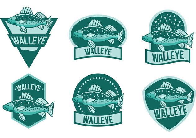 Free Walleye Icons Vector - Free vector #408977