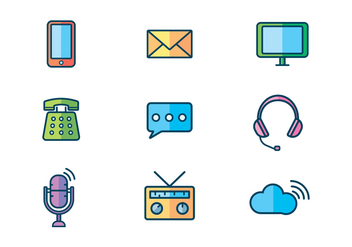 Free Communication Device Vector - Kostenloses vector #409617