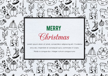 Free Vector Christmas Illustration - Kostenloses vector #410057