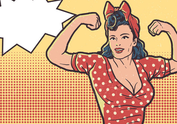 Día De La Mujer - vector #410347 gratis