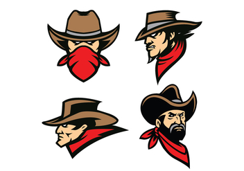 Free Cowboy Vector - Kostenloses vector #410487