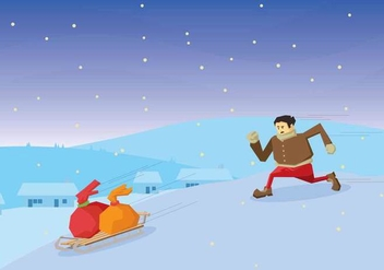 Free Toboggan Illustration - vector #410597 gratis