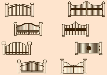 Free Gate Vector - Free vector #411627