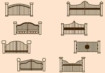 Free Gate Vector - бесплатный vector #411627
