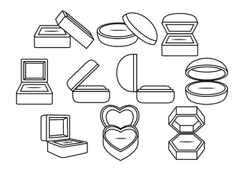 Free Ring Box Vector - vector #411647 gratis