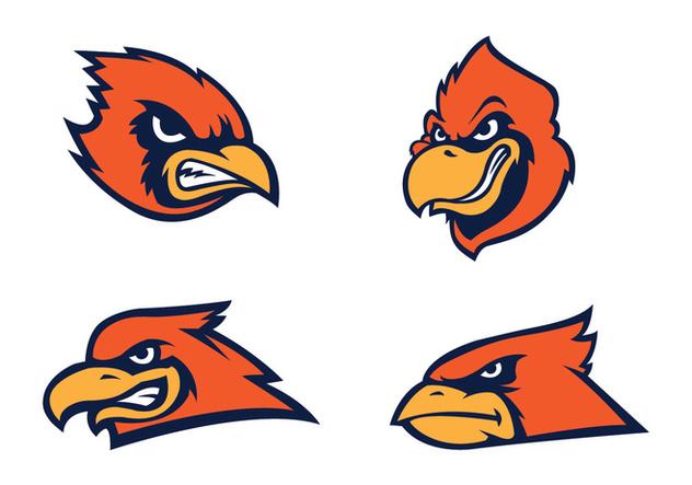 Free Cardinal Bird Vector - Free vector #412057