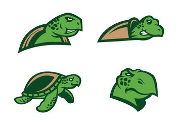 Free Turtle Vector - Kostenloses vector #412067