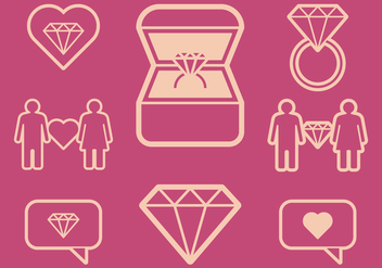 Engagement Icons - vector #412197 gratis