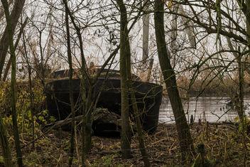 Left to rust - Old Ferryport, Zwanenplaatje, Biesbosch, Dordrecht - image gratuit #412417