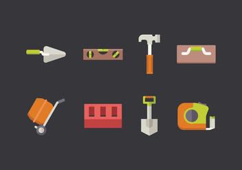 Free Masonry Icons - vector gratuit #412627