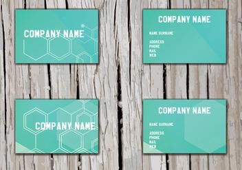 Namecard Vector - Free vector #412957