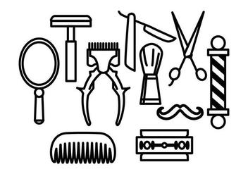 Free Barber Vectors - Kostenloses vector #413427