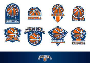 Basketball Logo Free Vector - бесплатный vector #413507