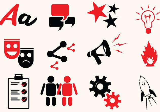 Storytelling Icon - Free vector #413827
