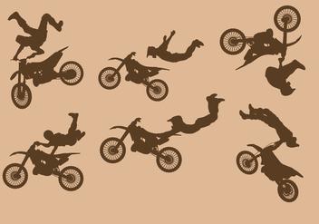 Dirt Bikes Free Vector - Kostenloses vector #413957