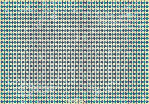 Grunge Argyle Pattern Background - Kostenloses vector #414517