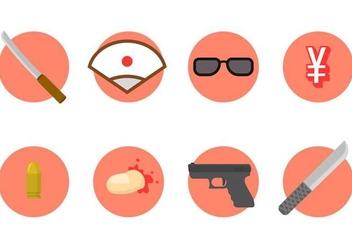 Free Yakuza Vector Icon - Free vector #414597