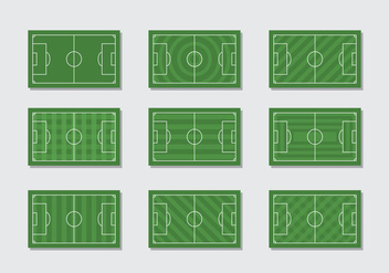 Free Football Ground Vector - бесплатный vector #414687