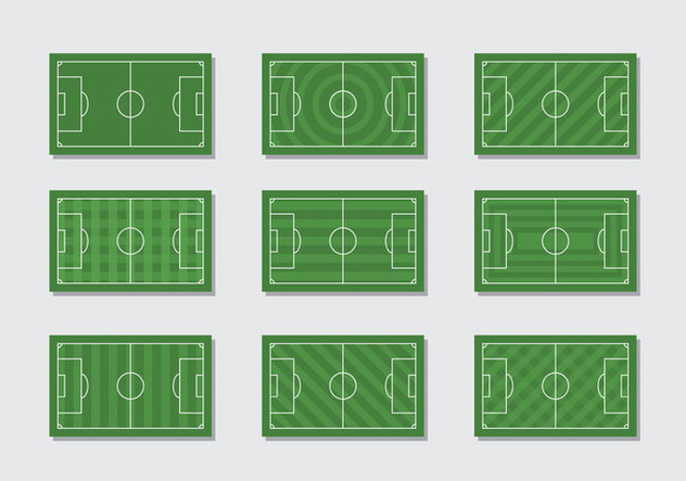 Free Football Ground Vector - Free vector #414687