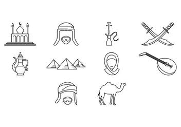 Free Arabian Icon Vector - Free vector #414797