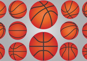 Basketball Ball Set - Free vector #414907