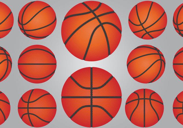 Basketball Ball Set - vector #414907 gratis