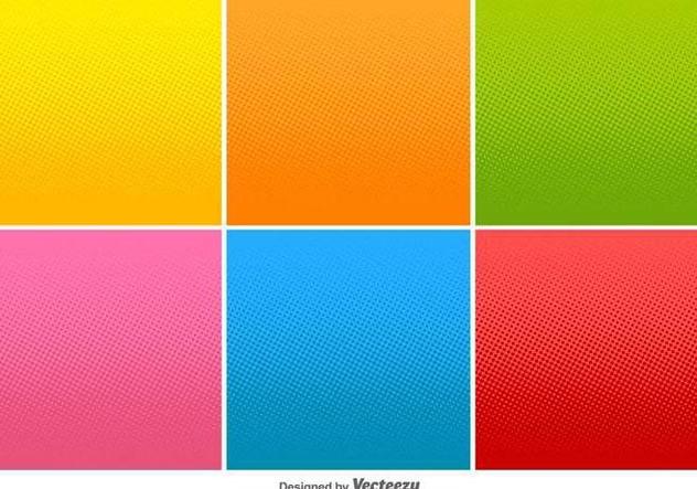 Halftone Vector Lineal Gradients - vector #414927 gratis