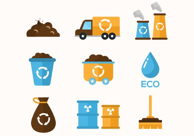 Free Garbage Vector Icons - vector #414947 gratis