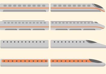 Free Bullet Train Vector - Kostenloses vector #415387