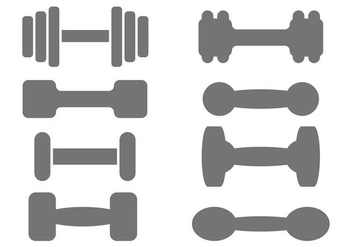 Free Dumbell Vector - Free vector #415567