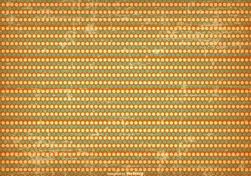 Grunge Polka Dot Background - vector gratuit #415617