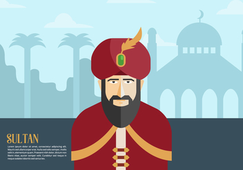 Sultan Background - vector gratuit #415717