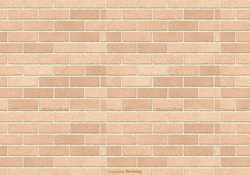Brown Brick Pattern Background - Free vector #415957