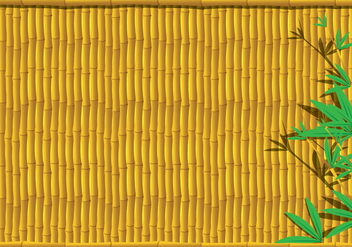 Bamboo Background - vector #416367 gratis