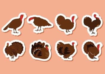 Free Turkey Bird Vector Illustration - Free vector #416477