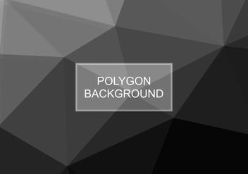 Free Vector Grey Polygon Background - Kostenloses vector #416527