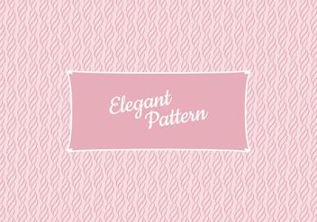 Vector Elegant Pattern - Free vector #416577