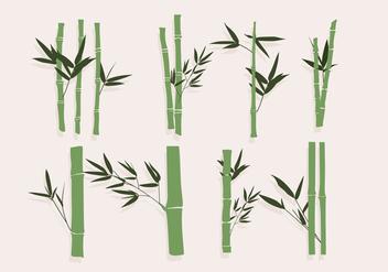 Bamboo Green Vector - Free vector #417477